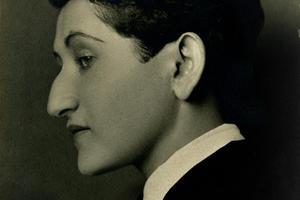 Anita Brenner by Tina Modotti