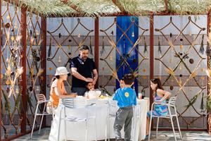 sukkah holiday installation
