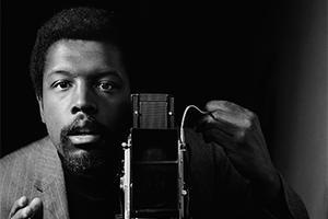 Kwame Brathwaite self-portrait