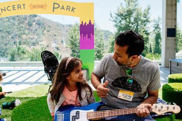 Paul Simon the park