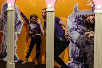 The Jim Henson Exhibition: Imagination Unlimited installation