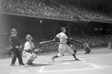 Hank Greenberg After Connection; Home Run