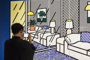 late night lichtenstein
