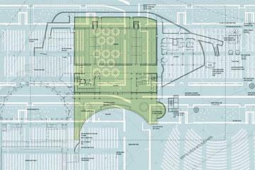 Floorplan of Guerin Pavilion