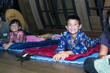 Skirball Family Sleepover