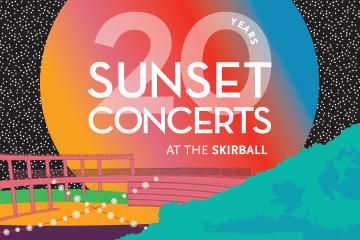 20th Anniversary season of Sunset Concerts