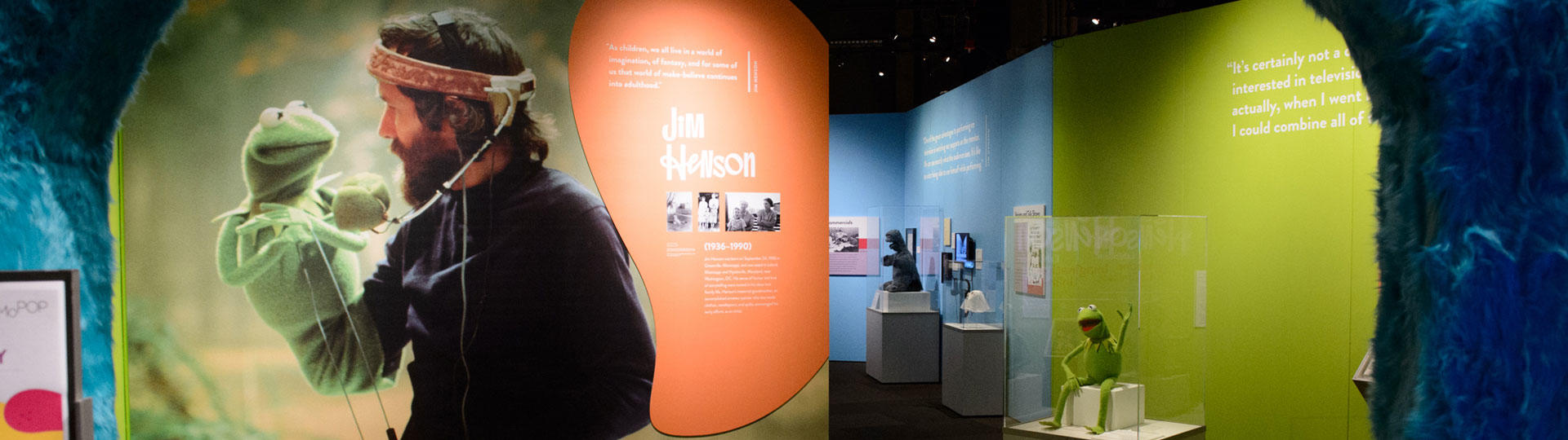 Installation view of The Jim Henson Exhibition. Photo by Jim Bennett, courtesy of Museum of Pop Culture.