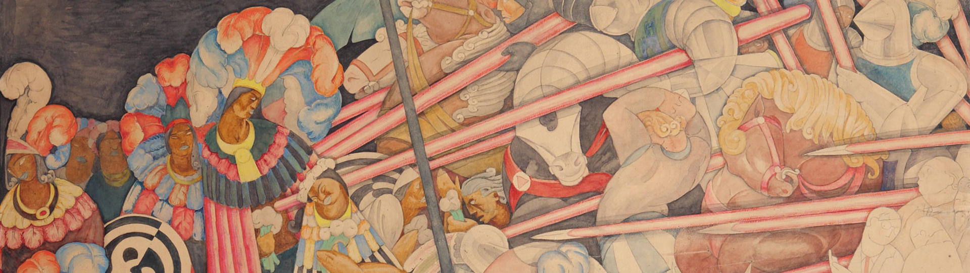 Jean Charlot, Massacre in the Main Temple