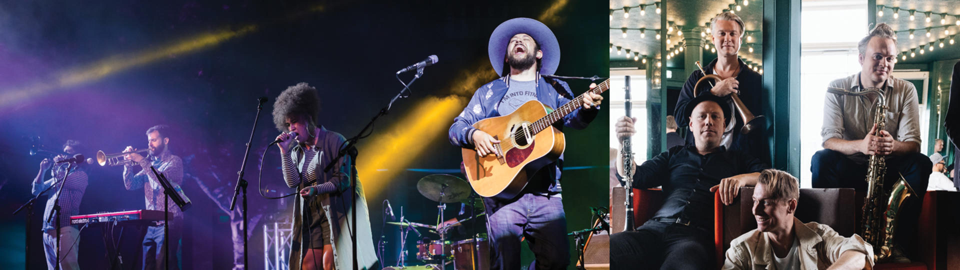 Image of bands, Dustbowl Revival and Mames Babegenush