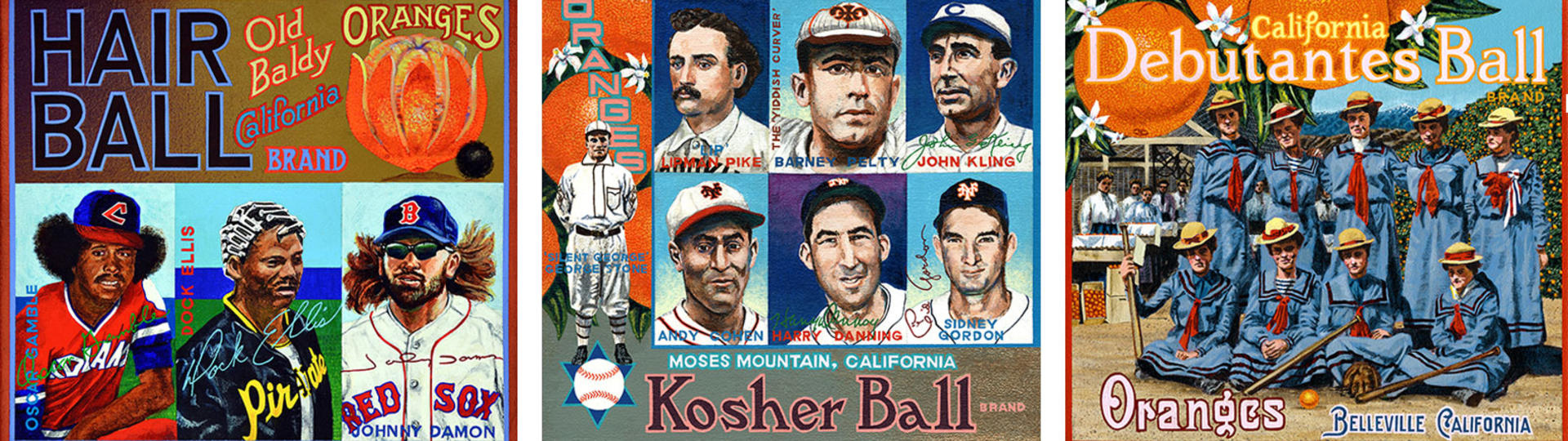 The Unauthorized History of of Baseball header