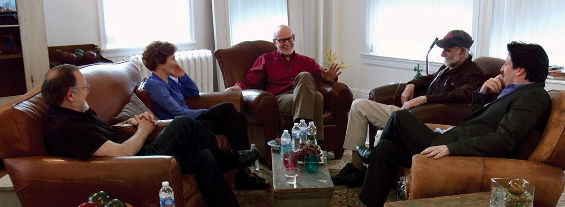 Muppet Guys Talking film still, courtesy of Vibrant Mud LLC.