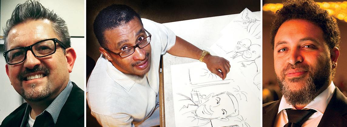 Cartooning through Chaos