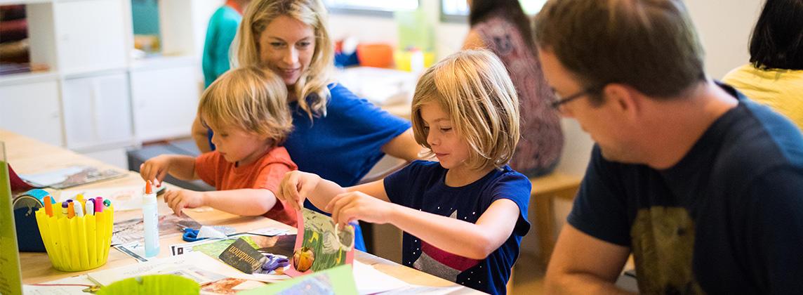 Families Making Art