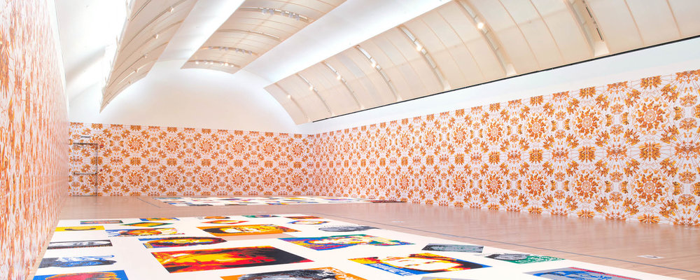 """Lighting for """"Ai Weiwei: Trace"""" at the Skirball"""