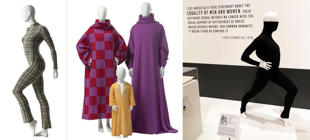 three fashion images
