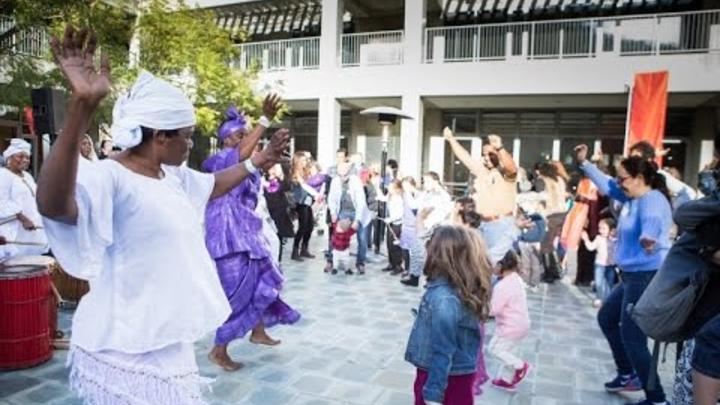 Learn more about the Hanukkah Family Festival at the Skirball.