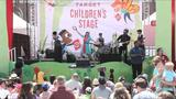 """Watch kids and their parents enjoy Lucky Diaz and the Family Jam Band perform """"Pretty Princess"""" live at the <em>LA Times</em> Festival of Books."""